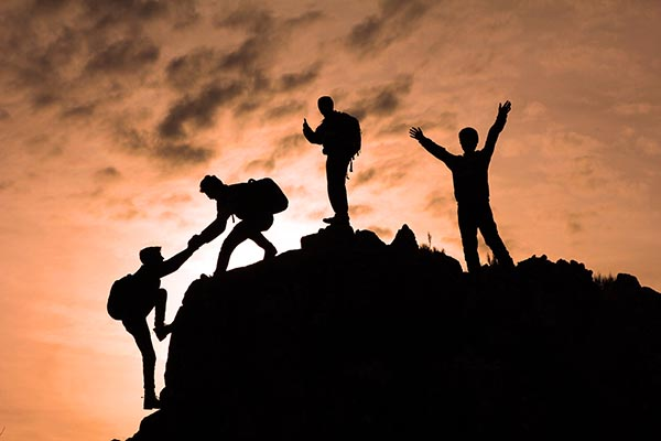 birlik beraberlik & zirve mutluluğu
